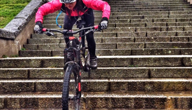 Claudia Clement - Specialized Enduro