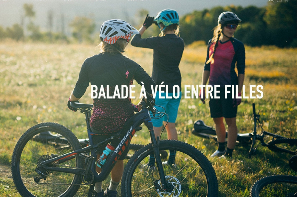 claudia clement balade velo entre filles